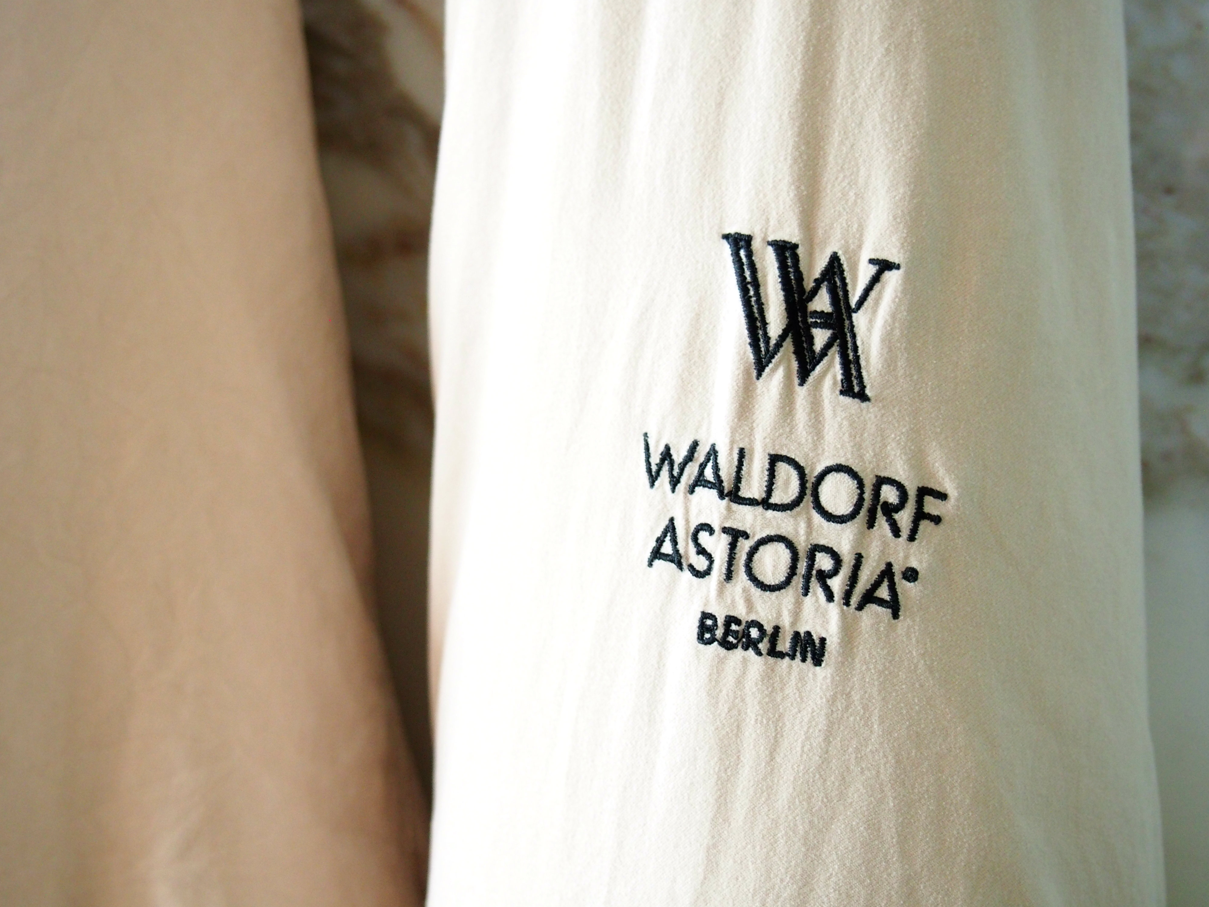 Waldorf Astoria Berlin king junior suite bathrobe