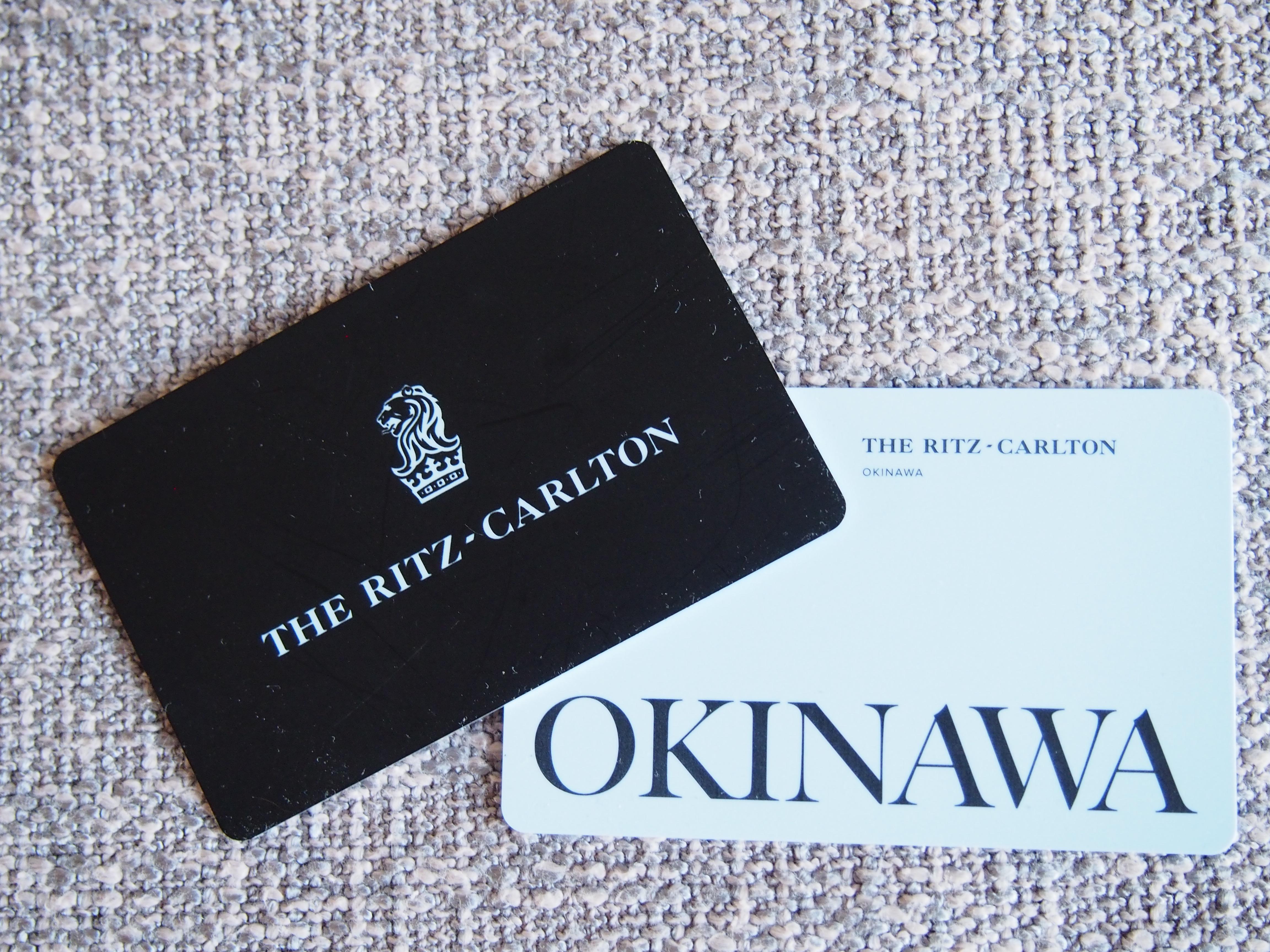Ritz-Carlton Okinawa keycard