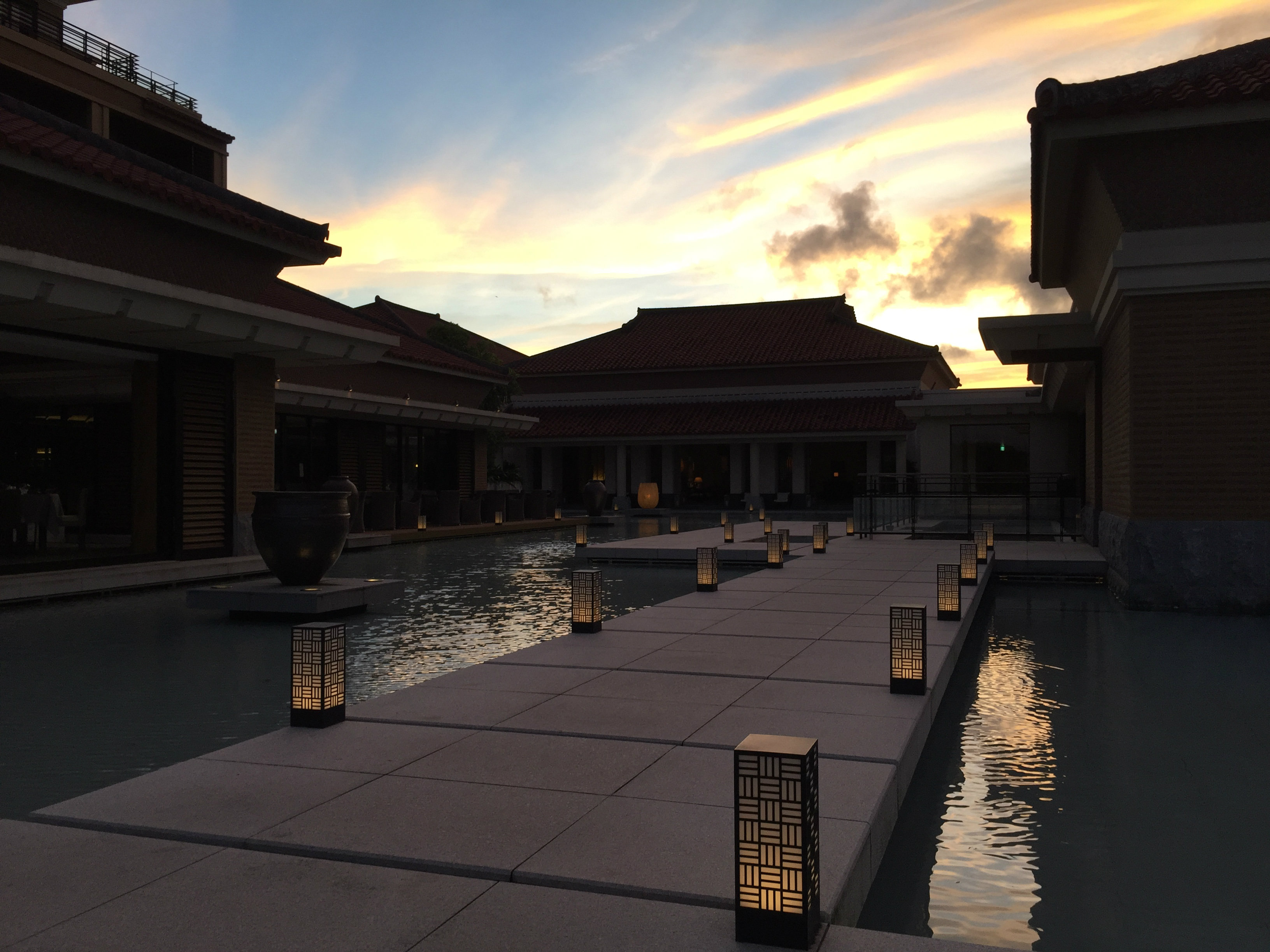 Ritz-Carlton Okinawa sunset