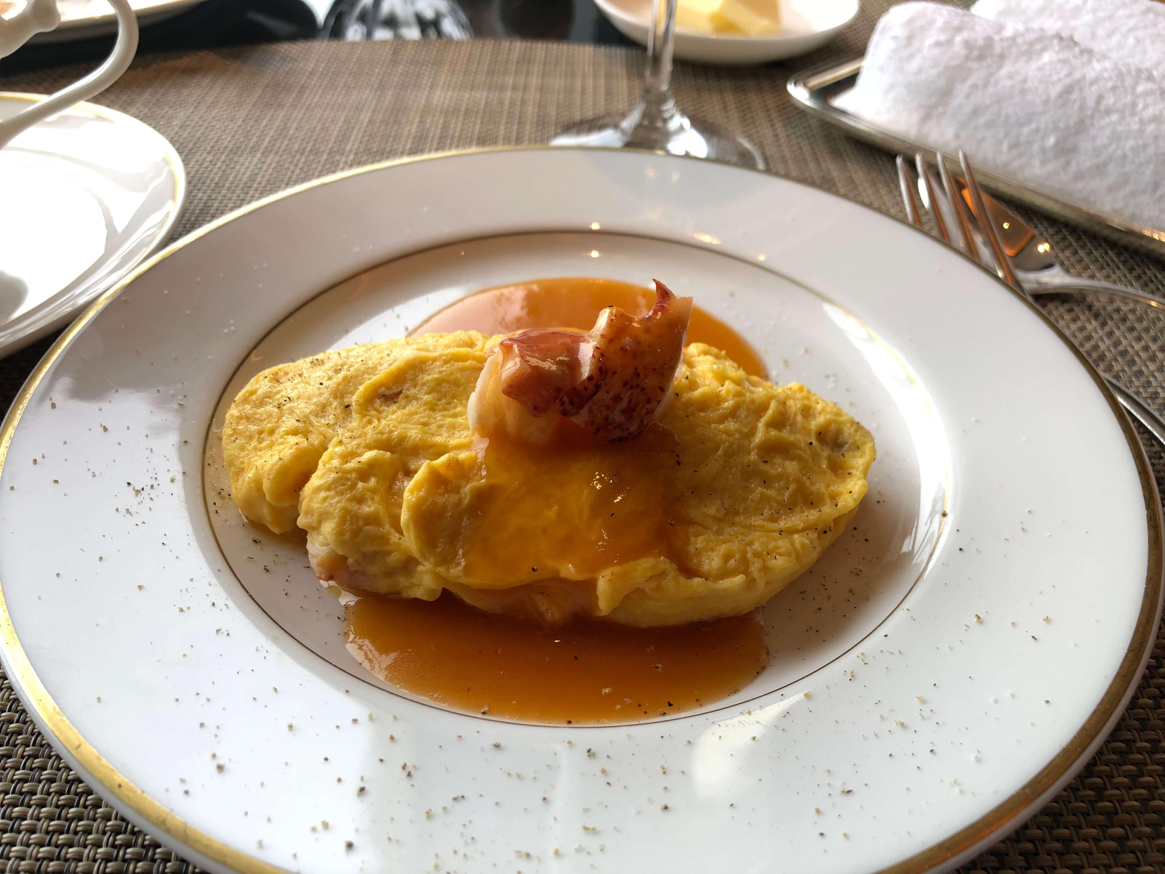 Ritz-Carlton Tokyo Club Lounge breakfast