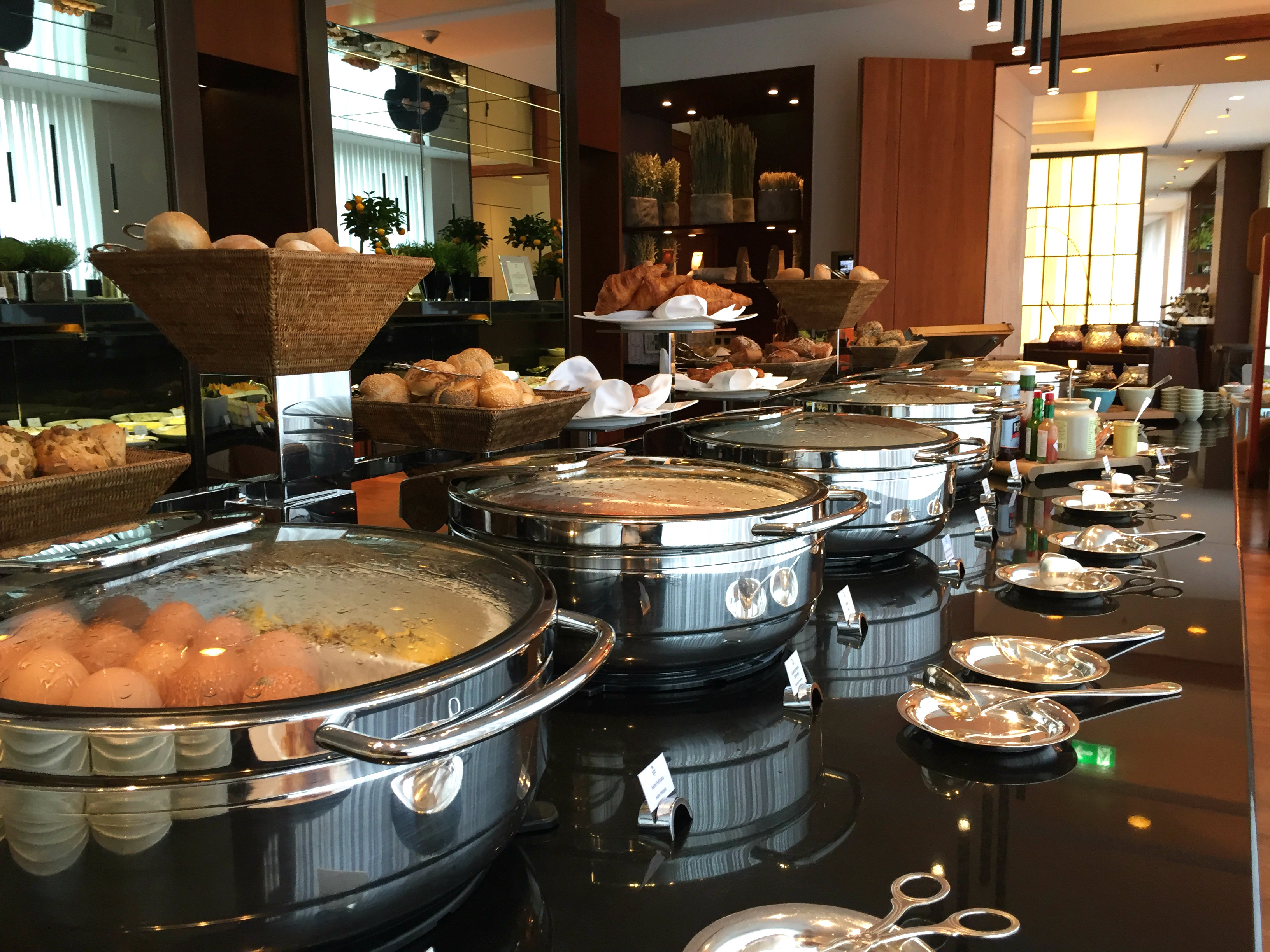 Waldorf Astoria Berlin breakfast buffet