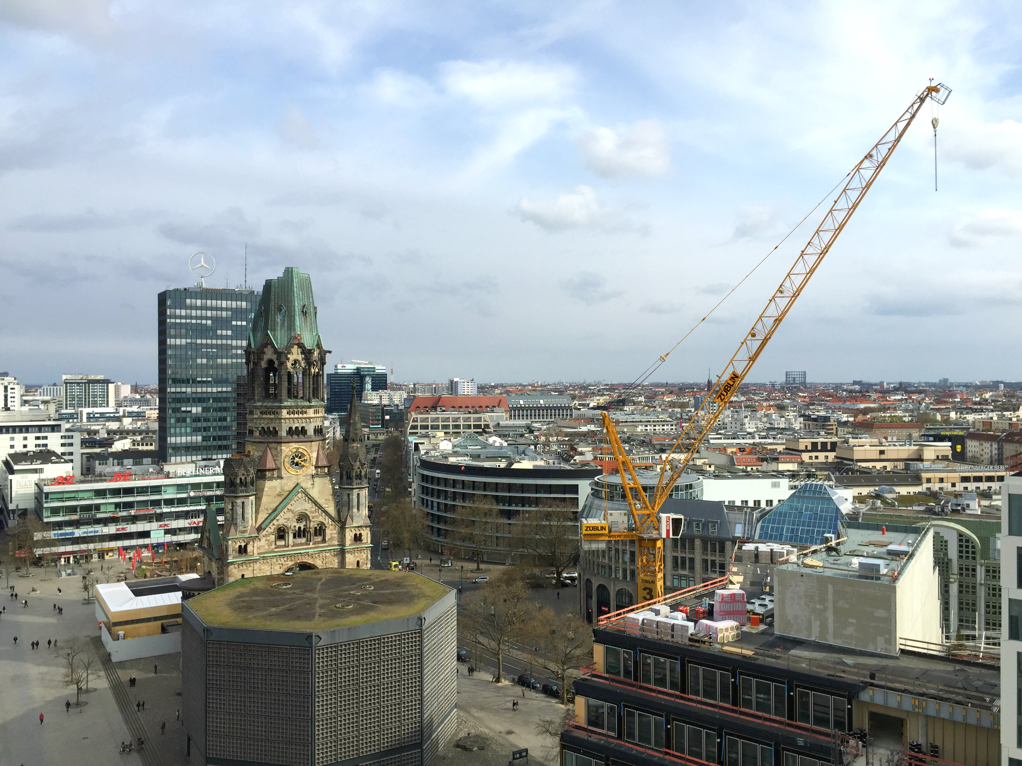 Waldorf Astoria Berlin view