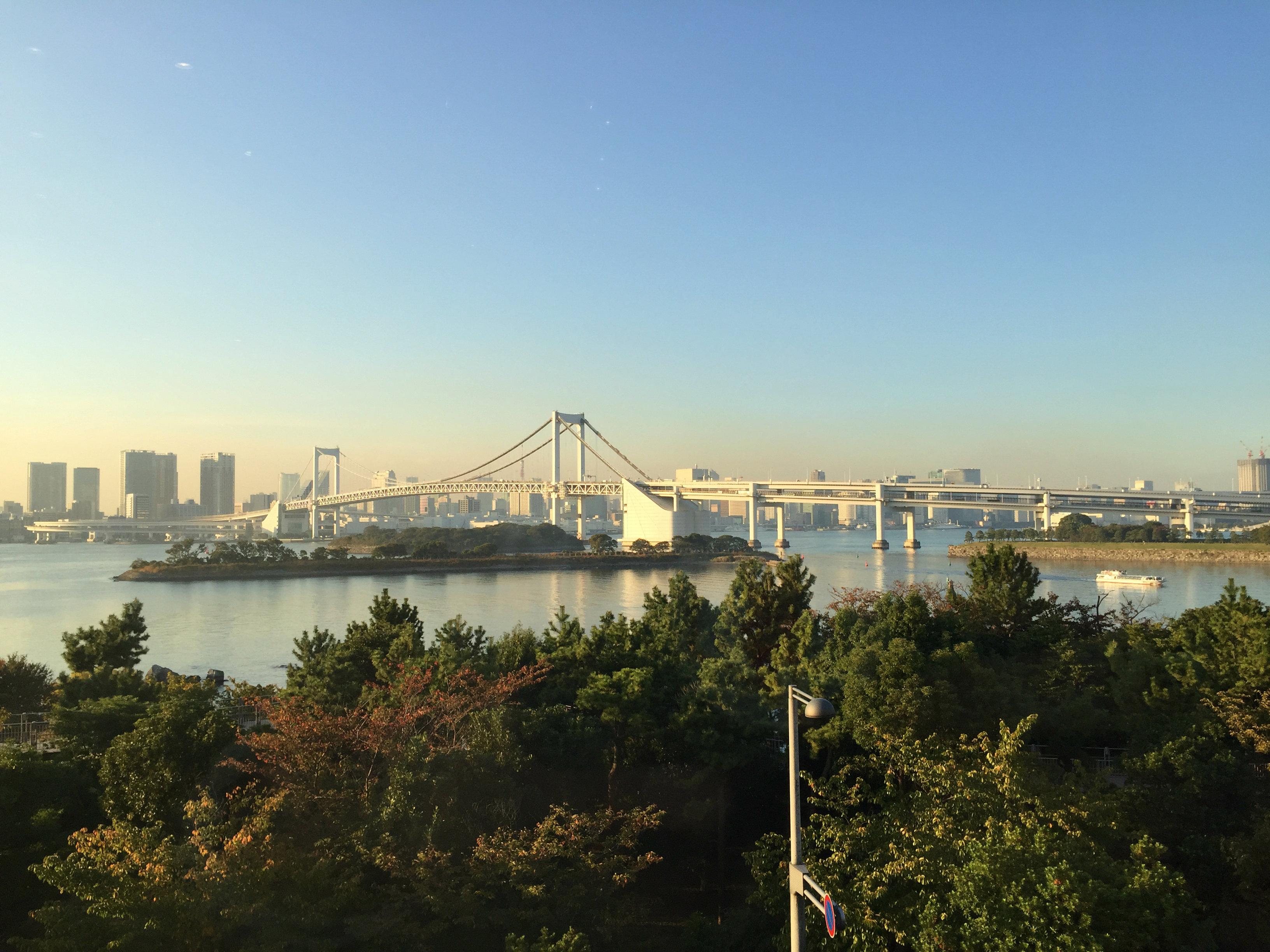 Odaiba Tokyo Rainbow bridge