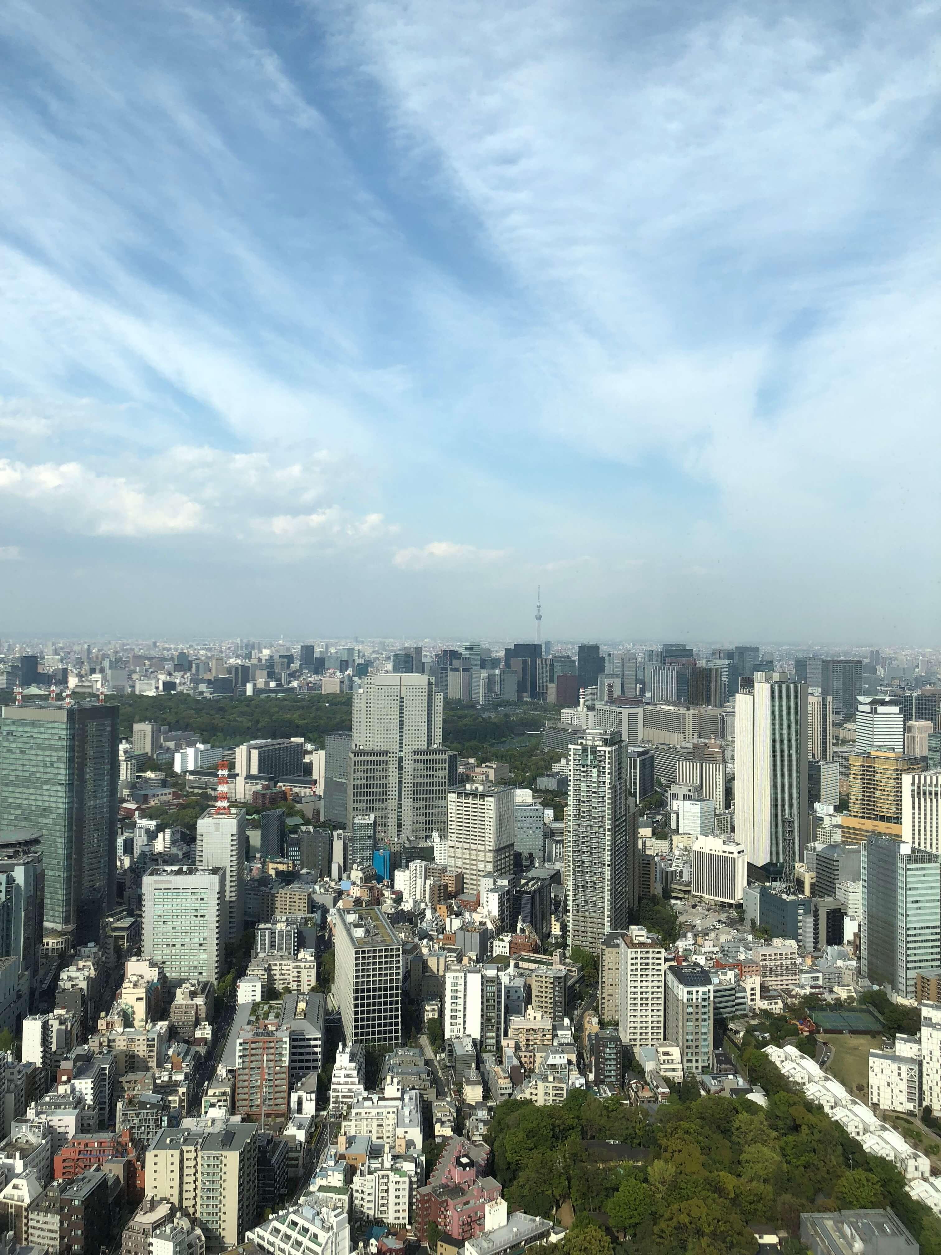 Ritz-Carlton Tokyo Club Deluxe room Tokyo Skytree