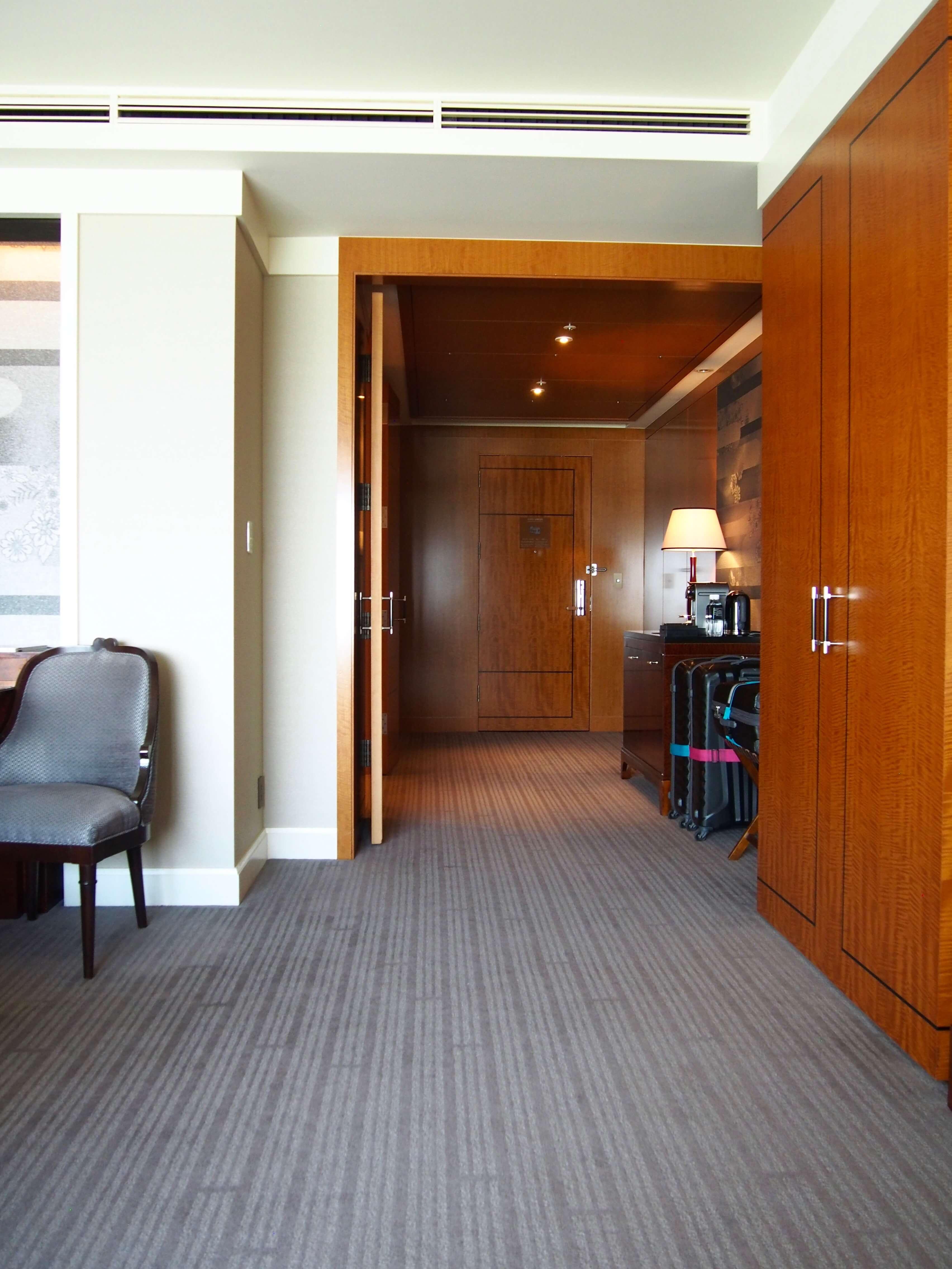 Ritz-Carlton Tokyo Club Deluxe room