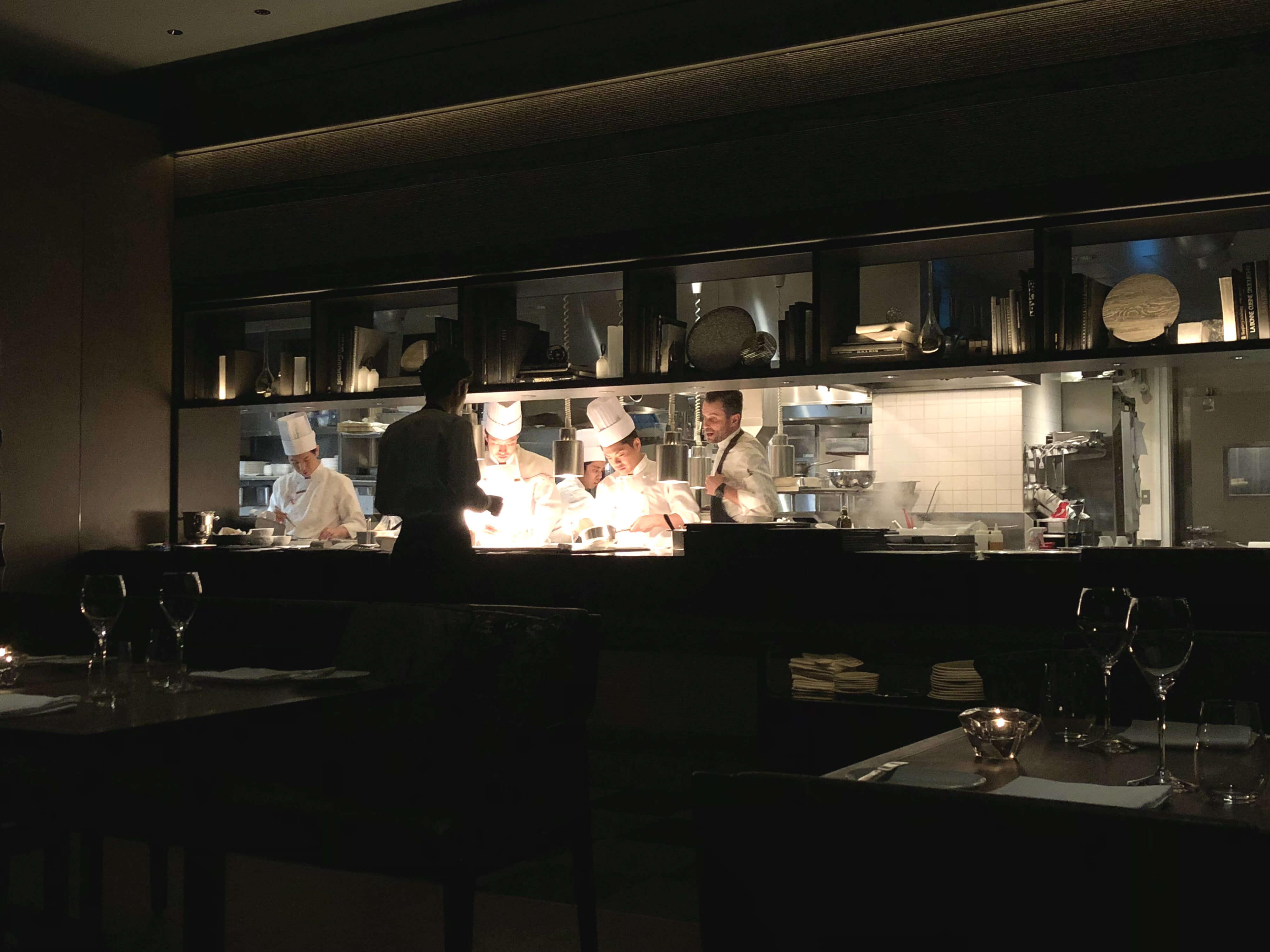 Ritz-Carlton, Tokyo food